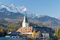 Hotel Castle Elmau. Bavaria. Germany