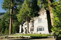 Vikingsholm Mansion (Laura Knight, 1929) Emerald Bay. Lake Tahoe. California, USA