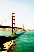 Golden Gate bridge. San Francisco. California, USA