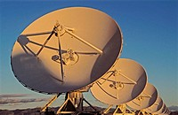 VLA Radio Telescopes. National Radio Astronomy Observatory. New Mexico. USA