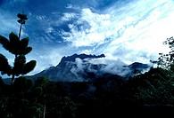 Mt. Kinabalu view from Taman Kinabalu, Sabah, Malaysia