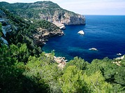 Es Amunts area. Ibiza, Balearic Islands. Spain