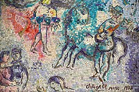 The Loop, ´The Four Seasons´ mosaic by Marc Chagall (1974). Chicago. Illinois, USA