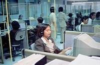 Business & Profession, Telecommunications, Call centre, Telephone operators, Mobile pager Centre
