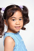 4 year old Asian Afro-American child