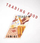 A´Trading Food´ design logo from the Food for Thought Gallery, Science Museum, London. Trade is theoretically a means whereby food can pass from areas...