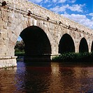 Roman bridge. Salamanca. Spain