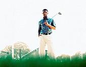 African American Golfer