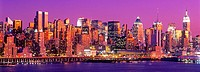 Midtown skyline, Manhattan. New York City, USA