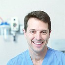 Smiling Medical Professional