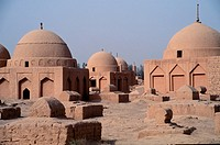 Muslim graves, Turpan, China