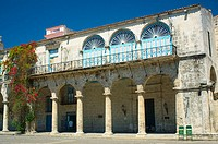 Palacio de los Marqueses de Arcos was built in the 1700s. Havana, Cuba