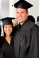 Graduates, St. Thomas University Commencement at Miami Beach Convention Center. Florida, USA