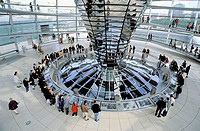 Reichstag Dome. Berlin. Germany