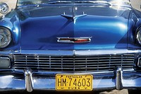 Old classic american car. Havana. Cuba