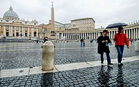 St. Peter´s Basilica and Square. Vatican City, Rome. Italy