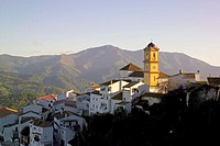 Algatocín village. Malaga province. Andalusia. Spain