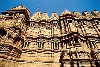 Jain temple. Jaisalmer. Rajasthan, India