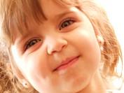 protrait of a little girl