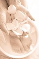 pedicure, aromatherapy