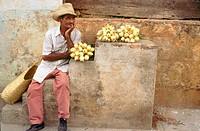 Man. Trinidad, Cuba.