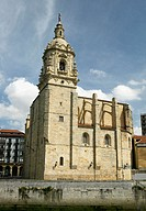 Church of San Antón. Bilbao, Biscay. Euskadi, Spain