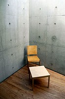 Conference Hall by Tadao Ando, Vitra Furniture Museum and Factory. Weil am Rhein. Baden-W&#252;rttemberg, Germany