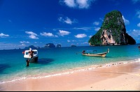 Railey Beach, Krabi, Thailand