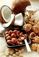 Still life with various nuts (2)