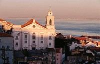 Church of Santo Estêvão, Alfama. Lisbon, Portugal