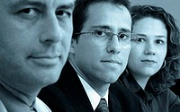 Businesseman, man, woman, executive, Brazil
