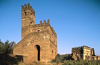 Chancellery. Emperor Yohannes I Library. Imperial City. Gondar. Ethiopia.