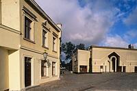 Theatre. Theatre square. Klaipeda. Lithuania.