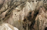 the old valley in middle anatolia in turkey
