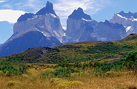 Cuernos del Paine. Torres del Paine National Park. Magallanes XIIth region. Chile