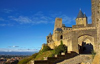 La Cite, Carcassonne, Languedoc Roussillon, France