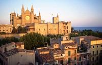 Cathedral. Palma de Mallorca. Balearic Islands. Spain.