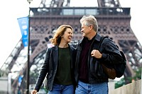 A couple in Paris