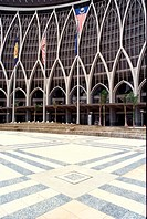 Ministry of Finance building at Putrajaya, Malaysia