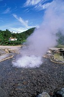 furnas:caldeiras/hot springs, sao miguel, portugal