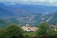 village view, cupi, italy
