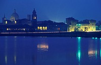 town view, mantua, italy