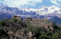 castle, s.giorio di susa, italy