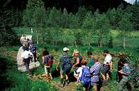 paluaccio di oga natural reserve, bormio, italy