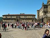 Hostal dos reyes Católicos. Santiago de Compostela. Galicia. Spain.