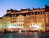 Old Town Market Square (Rynek Starego Miasta). Warsaw. Poland
