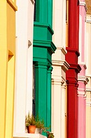 Row houses at Portobello Road. London. England