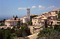 Assisi skyline. Umbria, Italy