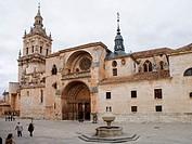 El Burgo de Osma cathedral. Soria province. Spain.