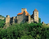Castle Hardegg, region Waldviertel. Lower Austria